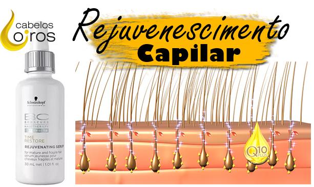 q10 - Rejuvenescimento Capilar Com sérum Schwarzkopf