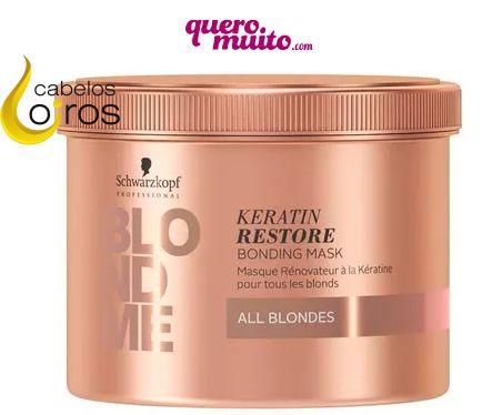 blondme - Máscara Blondme Keratin Restore
