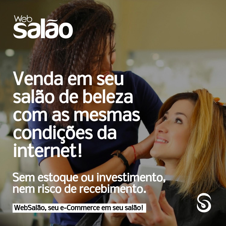 E-commerce Para salão de Beleza