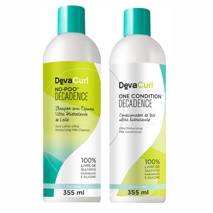 kit deva curl decadence no poo one condition 355 ml 468 1 20160812183759 700x700 - O que é no poo e co wash - Como usar?