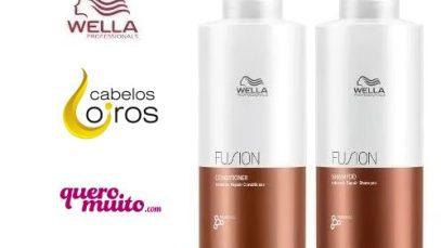 Wella fusion Shampoo e Condicionador