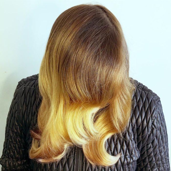 cabelo loiro dourado